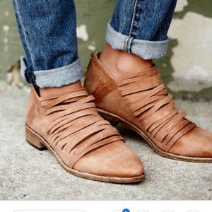 Free People Lost Valley Ankle Boot.  SZ 39